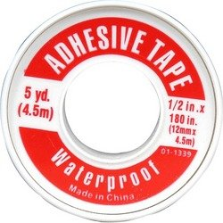 f Adhesive Tape 1/2 X 5 Yds Case Pack 48 ()