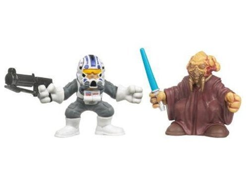 Star Wars Galactic Heroes Plo Koon and amp; Captain Jag -