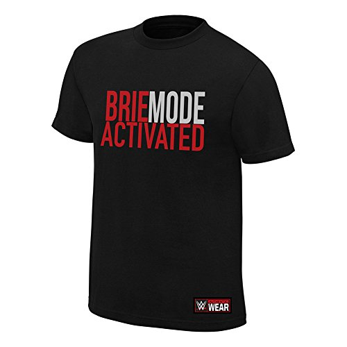 WWE Brie Bella Brie Mode Activated Youth T-Shirt Black Large by WWE Authentic Wear