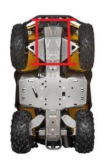 Can-Am 715000926 ATV Front Aluminum Skid Plate ()