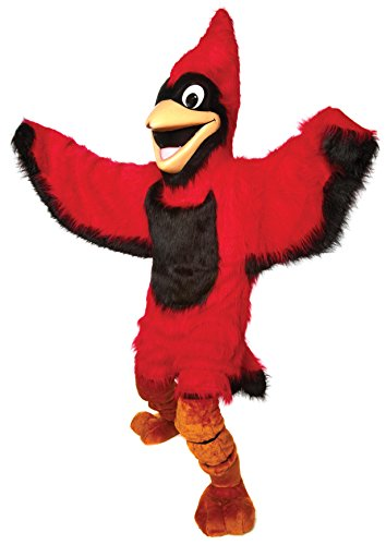 Friendly Cardinal Mascot