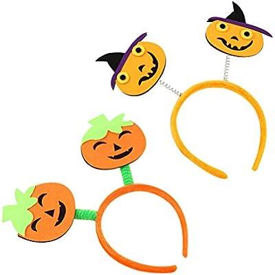 STOBOK - 2 diademas para el pelo de Halloween con círculos de ...