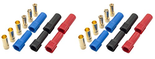XT150 Connector 6mm Gold Bullet Connector Male and Female Connectors For RC LiPo Battery ESC Motor 6 Pairs