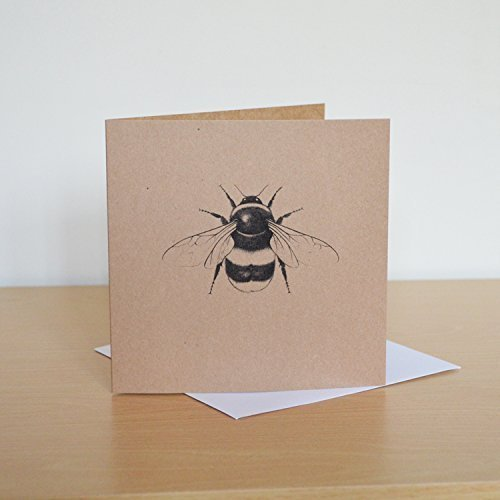 Bumble bee recycled greetings card bee birthday card amazon bumble bee recycled greetings card bee birthday card m4hsunfo