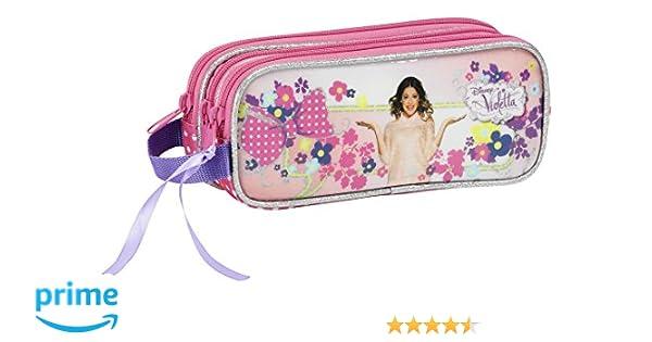 Violetta - Portatodo triple (Safta 811429635)