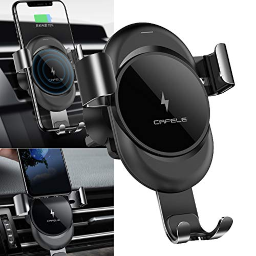 BINMUO Wireless Charger Gravity Auto Lock Car Air Vent Holder for Samsung Galaxy S10
