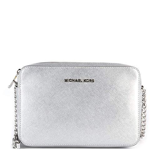 Michael Kors Silver Handbag - 5