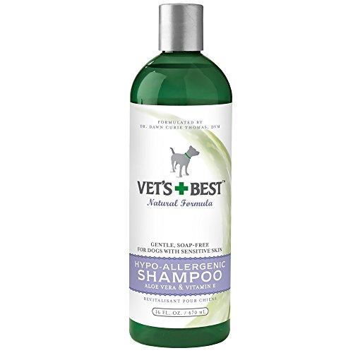 Vet's Best Hypo-Allergenic Dog Shampoo for Sensitive Skin, 16 oz