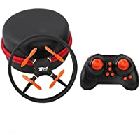 Nacome Mini Remote Control Airplane Crash Resistant Wandering UAV,Durable Nano UFO Drone Space Trek 2.4GHz 4-Axis 4CH RC Quadcopter,Best Gift
