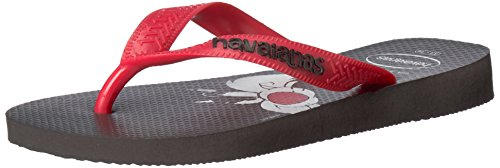 Havaianas Kid's Looney Tunes Sandal (Toddler/Little Kid),Black/Red,33/34 BR (3-4 M US Little Kid)