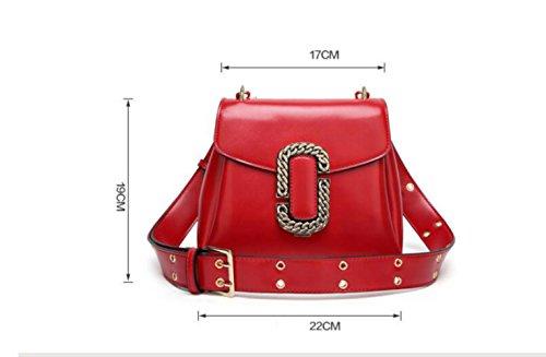 Shoulder Retro Bag Female Bag Bag Handbags Tote Black Messenger WenL pnxW1S4n