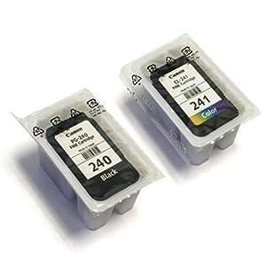 Canon Pixma PG-240 Black & CL-241 Color Ink Cartridges (Bulk Packaging)