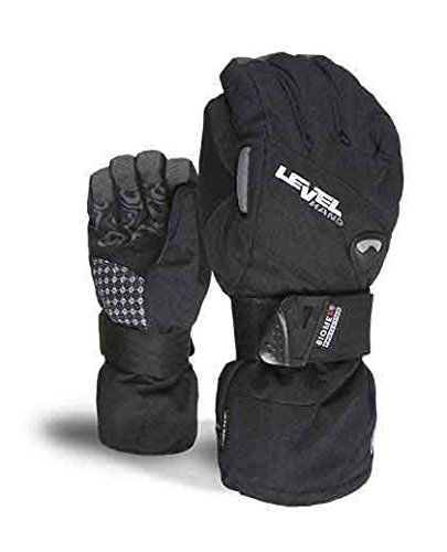 Level Half Pipe GTX Snowboard Protective Gloves with GoreTex Shell, BioMex Integrated Wrist Guards, ThermoPlus Liner