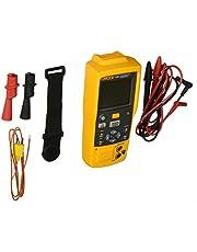 Fluke-714B Thermocouple Calibrator, Yellow/Brown/Black/Red