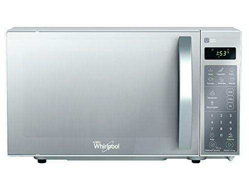 Whirlpool WM1207D Microondas 0.7 p³, 1,275 Watts, plata