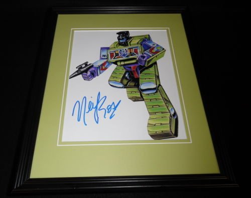 Neil Ross Signed Framed 8x10 Photo AW Transformers