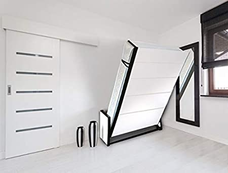 Wallbedking Vertical King (5ft x 6ft 6in) Tamaño Estudio Camas de pared (cama de Murphy, Cama plegable, Cama oculta): Amazon.es: Hogar
