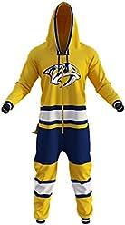8f3f63cc1d Nashville Predators NHL Onesie Adult Hockey Sockey