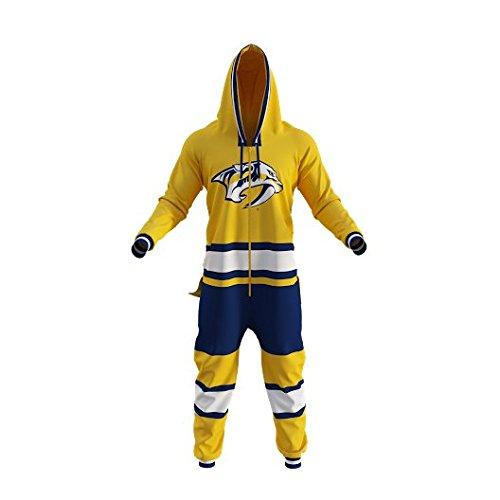 fan products of Nashville Predators NHL Onesie Adult Hockey Sockey (M)
