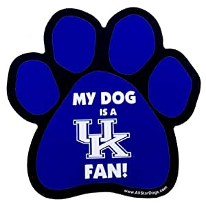Amazon.com : NCAA Kentucky Wildcats Paw Print Car Magnet