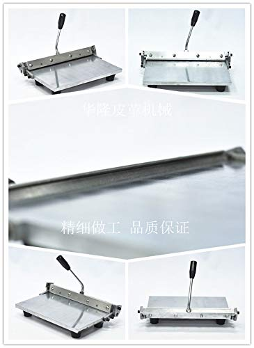 Stainless Steel Manual Leather Folding Machine for Leather Wallet Handbag 300mm by zZZ (Image #4)