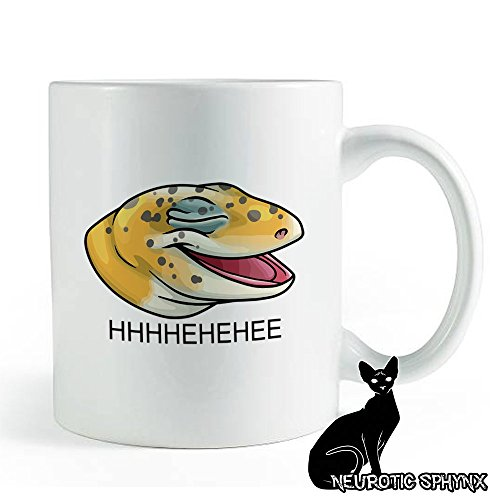 Laughing Lizard Meme Leopard Gecko - Coffee and Tea Mug