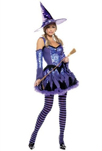 Wicked Kitty Costume (Be Wicked Costumes Women's Ninja Turtle BA Costume, Green,)