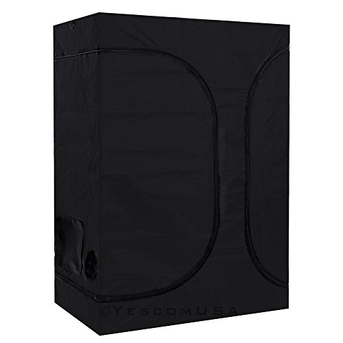 41aqXVP7FmL - 2-in-1 100% Reflective Mylar Hydroponics Indoor Grow Tent Propagation and Flower