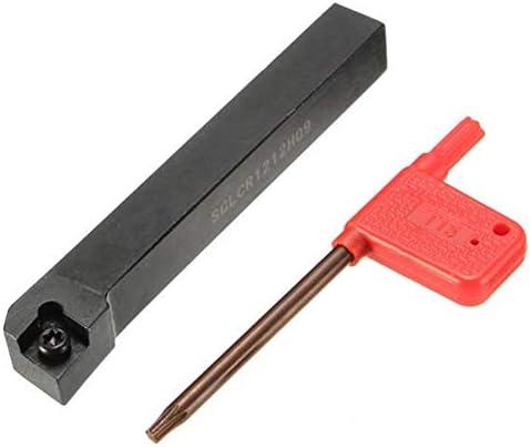 Qualitäts-CNC-Drehmaschine Werkzeug-Zubehör Halter for CCMT09T3 Insert 12x100mm SCLCR1212H09 Lathe Bohrstangenwerkzeug Drehen