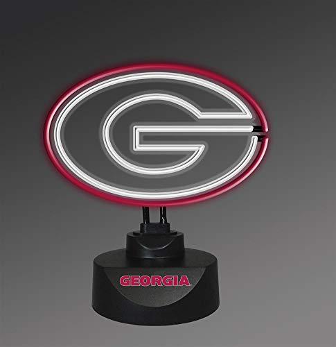 georgia bulldog lamp - 9