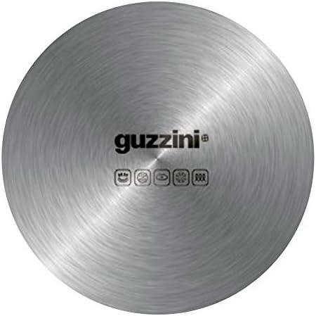 Guzzini Cooking Attila Veress Poêle à Paella Chromé 38,5 x 37,5 x 5 cm