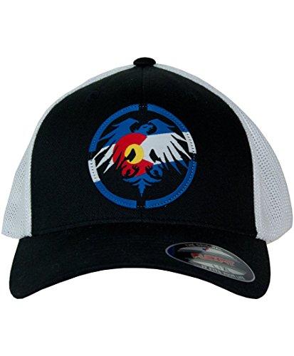 Never Summer Colorado Patch Flex Fit Trucker Hat