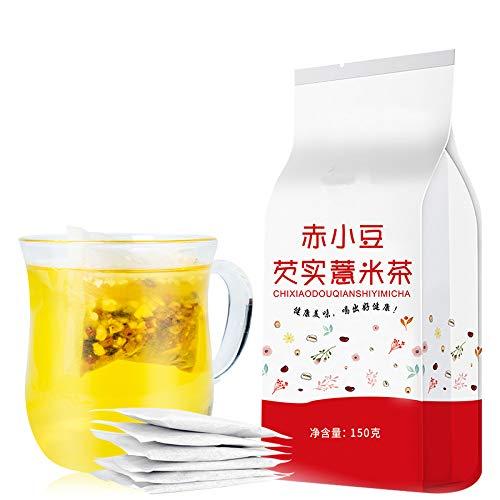 Helen Ou @ Red Bean Pearl Barley Gorgon Fruit Tea Bags for Clearing Damp 红豆薏米芡实茶