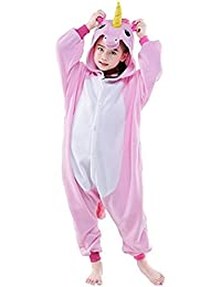 Halloween Cosplay Costume Unicorn Onesie Pajamas Onepiece Animal Outfit Homewear
