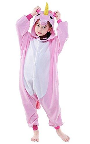 [Halloween Cosplay Costume Unicorn Onesie Pajamas OnePiece Animal Outfit Homewear] (Pink Unicorn Costumes)