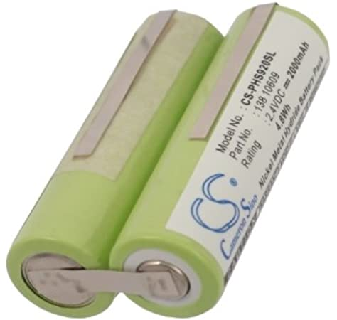 CS-PHS920SL Batería 2000mAh Compatible con [Philips] 5812, 5825 ...