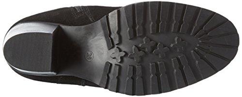 Black Long Boot 10 Schwarz Boots Black Suede Long Women's JJA16 Bianco 46qvwW