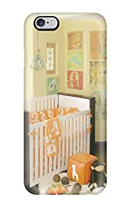 Cute PC Unisex Nursery With Orange Bedding And White Crib With Dark Wood Trim fC9xOAIRQBq Iphone 5/5S