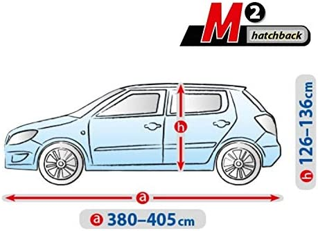 Autoplane ATMI M2 atmungsaktiv kompatibel mit Ford Fiesta VII autoschutz Abdeckung