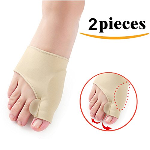 Kalevel Toe Separators Pedicure Bunion Corrector Night Time Bunion Regulator Bunion Splint for Left Foot Right Foot Pack of 2pcs by Kalevel