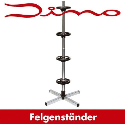 Dino 130003 Support de pneus avec housses de protection pour un stockage optimal des roues allant jusqu/à 18 et 225 mm de largeur