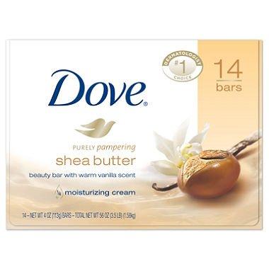 Dove Shea Butter Soap oz 14