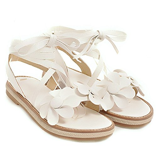 Femme JYshoes Bride Cheville JYshoes Bride Cheville Weiß qPERExFHXw