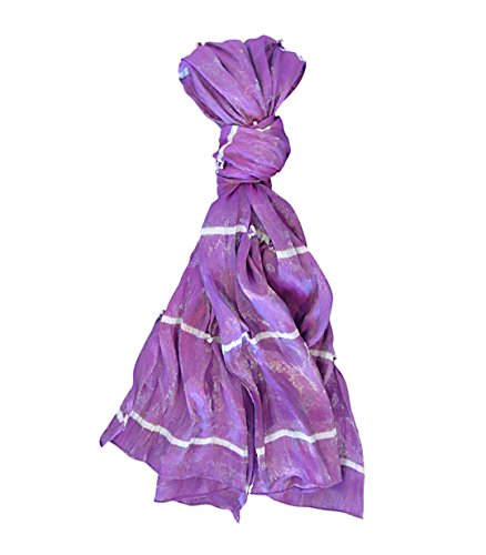 Best Selling 2018 Top Bouquets of Purple New Silk Handmade Wide Scarf Lightweight Scarves Clever Nice Unique Pretty Most Popular Beauty Clearance Deal Gift Idea Women Wife Mother (Just Because Bouquet)