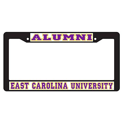 East Carolina Pirates Plate Frame BLK PLATE FRAME ECU -