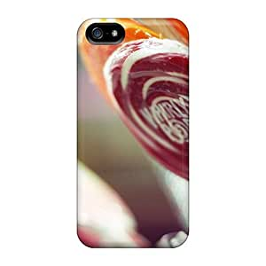 For Fly Angel Iphone Protective Case, High Quality For iphone 4 4s Food And Drink Lollipops Skin Case Cover