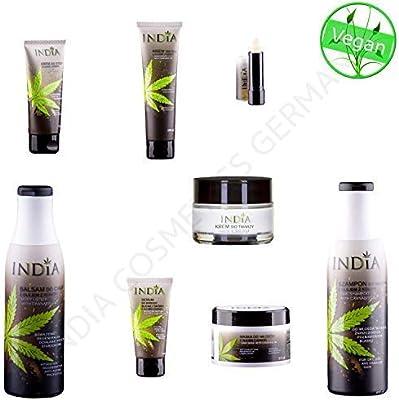 fdf4438667 Set di cosmetici in canapa di alta qualità con olio di cannabis, qualità  biologica di India Cosmetics Germany, valore di 110 Euro!