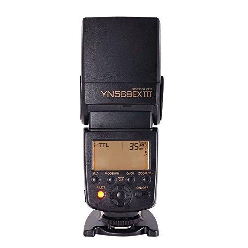 YONGNUO Upgraded YN568EX III Flash Speedlite Wireless Slave TTL with HSS 1/8000 for Nikon DSLR Cameras