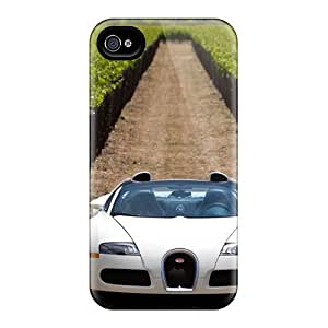 Hot Veyron Grand Sport Front First Grade Tpu Phone Case For Iphone 4/4s Case Cover