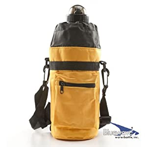 1L Bluewave Water Bottle Carrying Holder Case - Yellow
